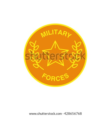vector military forces logo