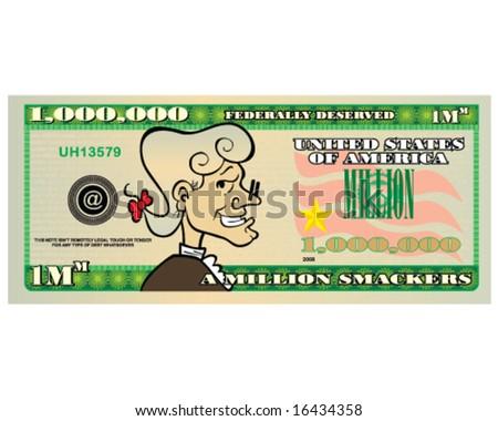 vector million dollar bill