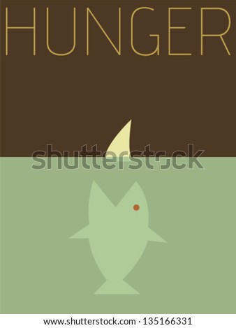 vector minimal design   hunger