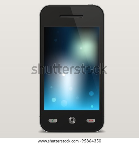 Vector Mobile Cellphone Template