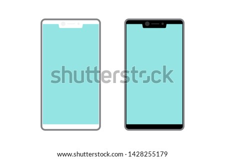 vector mobile phone , smart phone