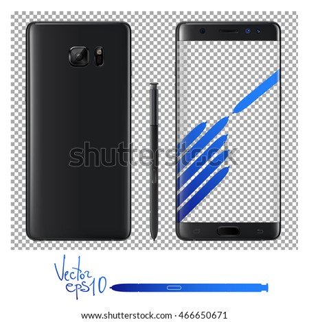 vector mock up of samsung