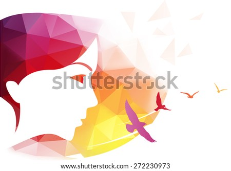 vector modern background with