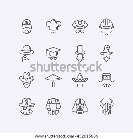 vector modern flat design icons