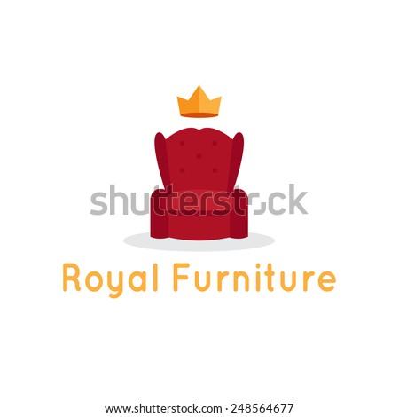 vector modern flat furniture