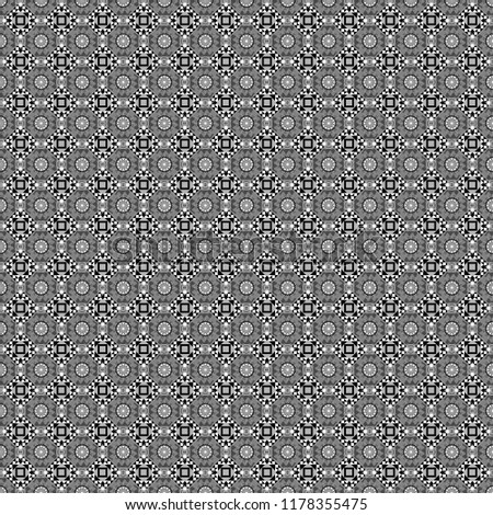 Vector modern geometrical abstract background in gray, black and white colors. Texture, new background. Geometric stylized multicolored seamless pattern.