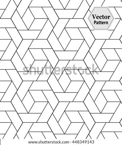 vector modern geometry pattern
