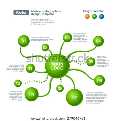 Royalty Free Infographics Tree Template EPS 10 137306441 Stock