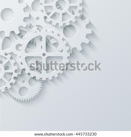 vector modern mechanism