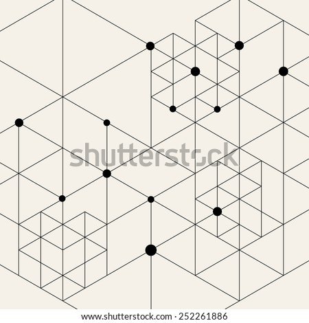 vector modern pattern black