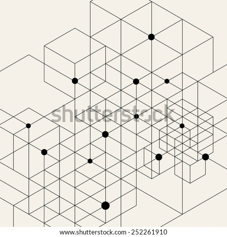 vector modern pattern black