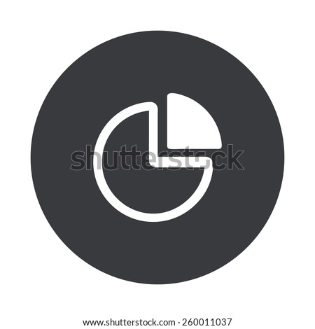 stock-vector-vector-modern-quarter-gray-circle-icon-on-white-background