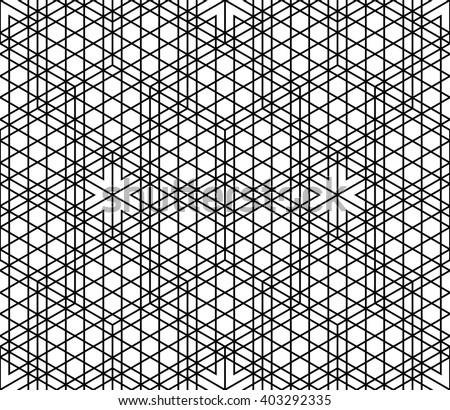 Vector modern seamless geometry pattern grid, black and white abstract ...: www.shutterstock.com/pic-403292335.html