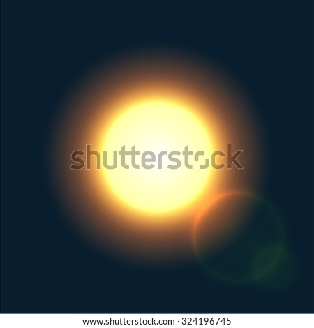 vector modern sun background