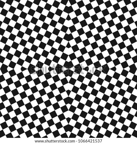 vector monochrome checkered