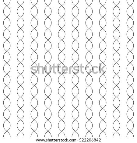 vector monochrome seamless