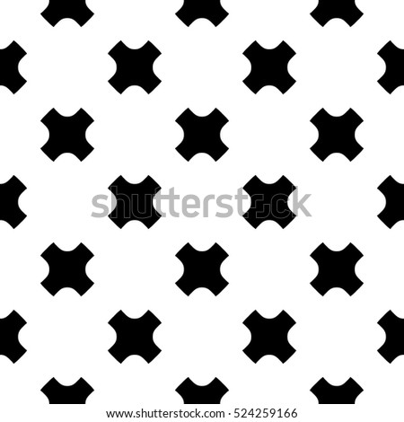 vector monochrome seamless
