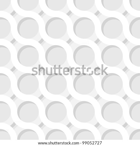 Vector monochrome square texture - the curved lines