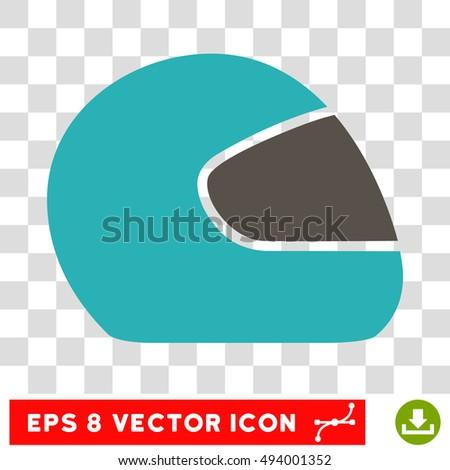 vector motorcycle helmet eps