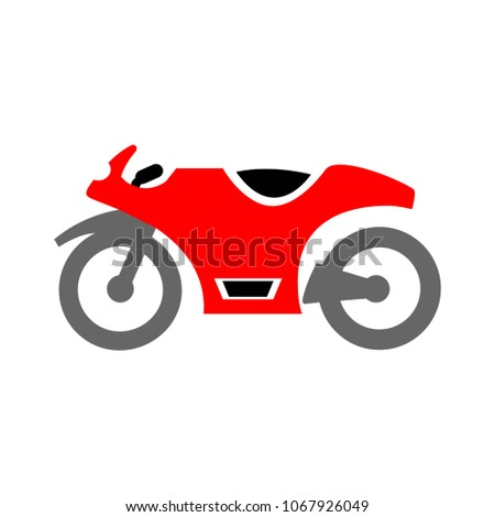 vector motorcycle illustration