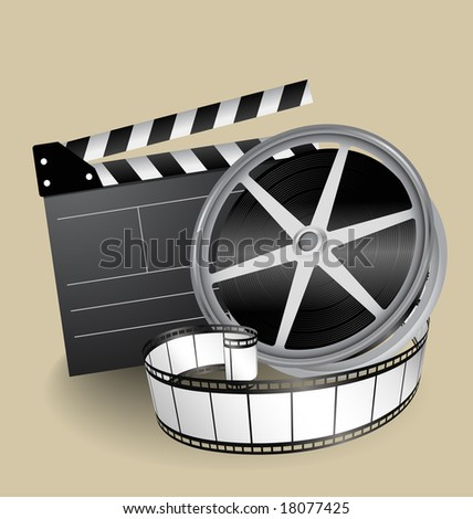 vector movie equipment   film