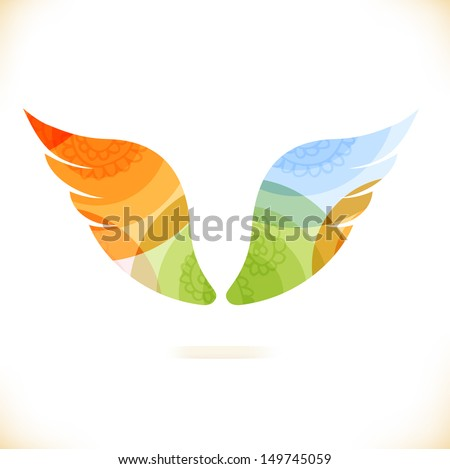 vector multicolor isolated