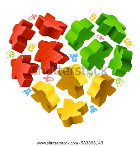 Vector Images Illustrations And Cliparts Vector Multicoloured Game