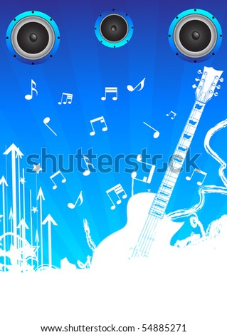 music staff clipart. hot musical note 2 clip art.