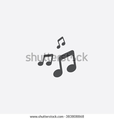 Shutterstock Vector music Icon