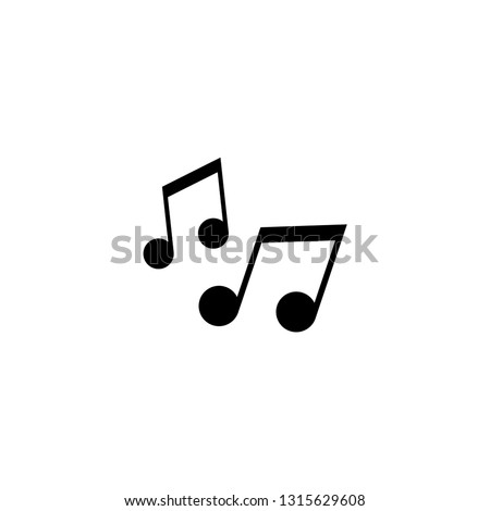 vector music note, music icon