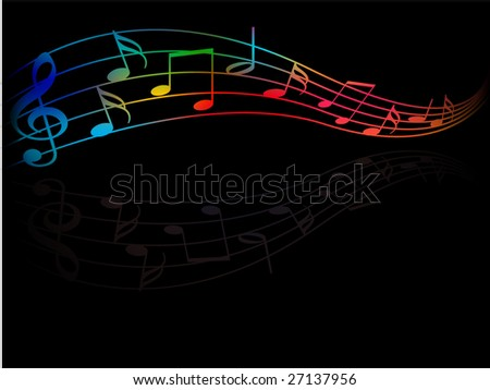 vector   musical fragment in