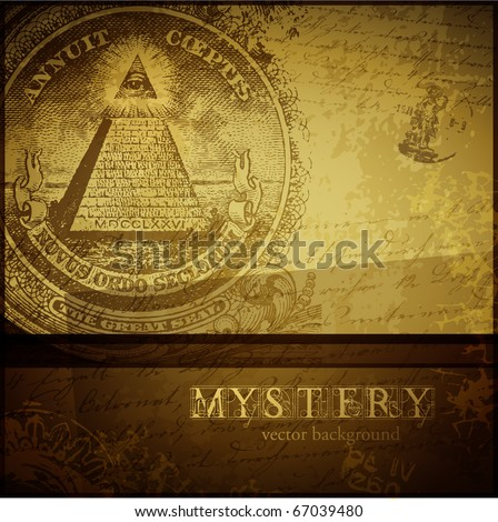 vector mystery background