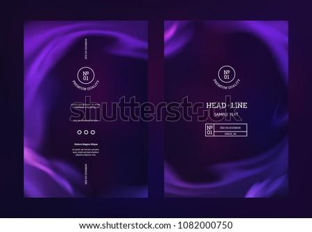 vector mystical purple