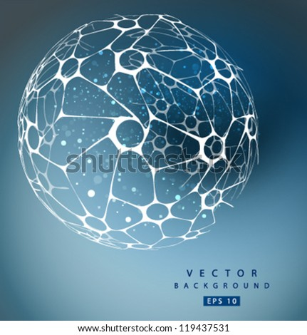 vector nano sphere