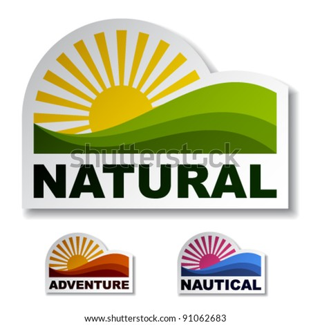 vector natural adventure