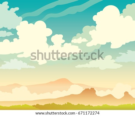 vector nature illustration