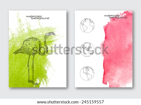 vector nature poster templates
