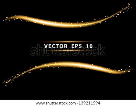 vector neon light frame
