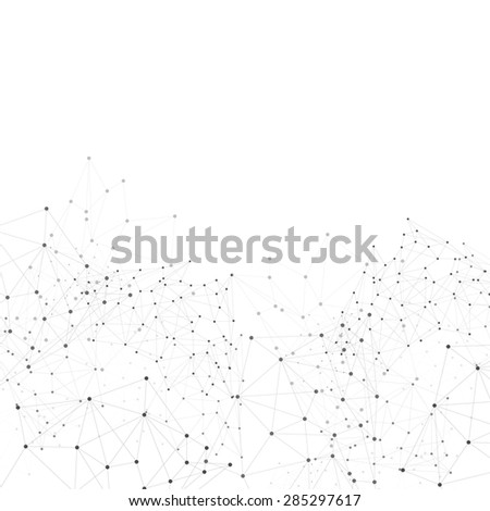Vector network background abstract polygon triangle. polygonal design geometrical