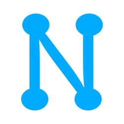 vector network icon - networking concept, global business technology, communication concept