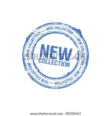 vector new collection stamp