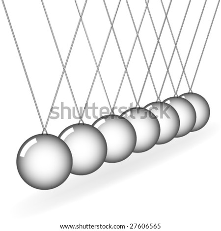 vector Newton's cradle