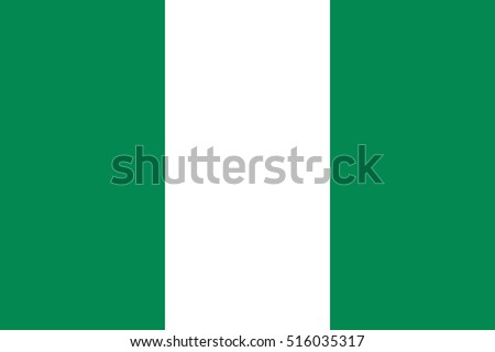 Vector Nigeria flag, Nigeria flag illustration, Nigeria flag picture, Nigeria flag image