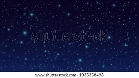 vector night sky background....
