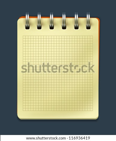 Vector notepad