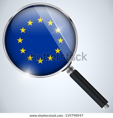 Vector - NSA USA Government Spy Program Country Europe