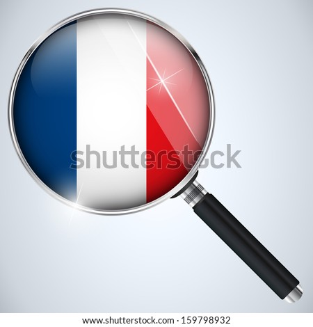 Vector - NSA USA Government Spy Program Country France