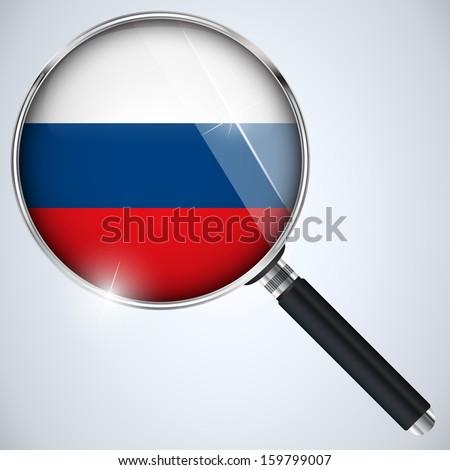 Vector - NSA USA Government Spy Program Country Russia