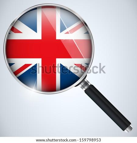 Vector - NSA USA Government Spy Program Country UK