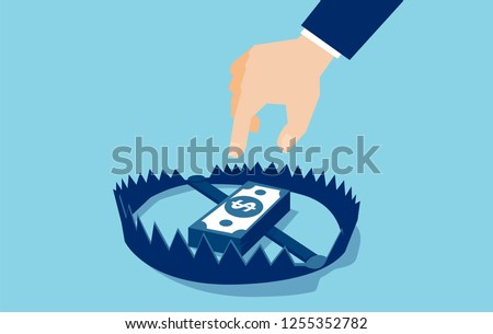 vector of a businessman hand